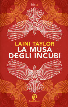 La musa degli incubi - Laini Taylor - copertina