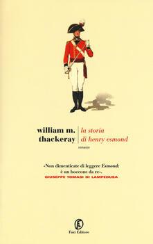 La storia di Henry Esmond - William Makepeace Thackeray - copertina