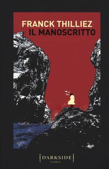 Il manoscritto - Franck Thilliez - copertina