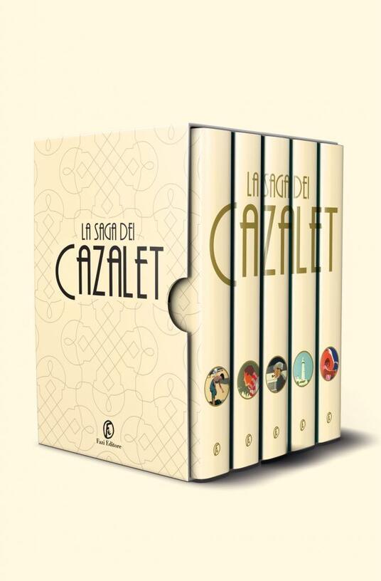 La saga dei Cazalet. Cofanetto - Elizabeth Jane Howard - copertina