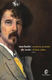 Memorie postume di Brás Cubas - Machado De Assis - copertina