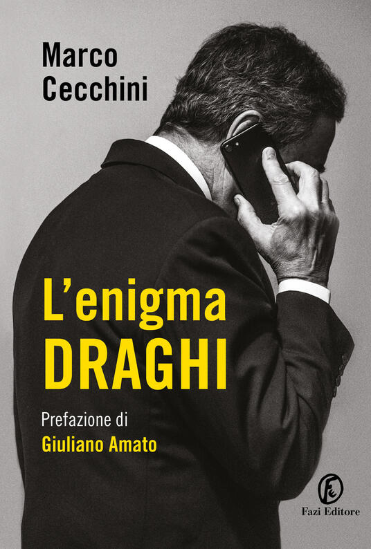 L' enigma Draghi - Marco Cecchini - copertina