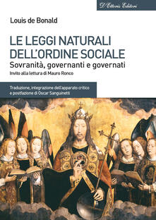 Grandtoureventi.it Le leggi naturali dell'ordine sociale. Sovranità, governanti e governati Image