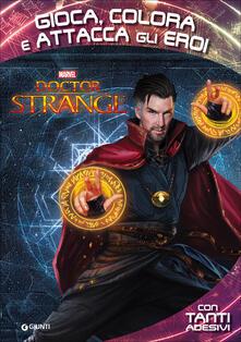 Doctor Strange. Gioca, colora attacca gli eroi. Con adesivi. Ediz. illustrata.pdf
