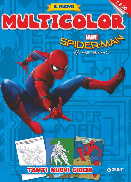 Spider Man Homecoming Il Nuovo Multicolor Libro Marvel Libri