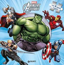 Voluntariadobaleares2014.es Avengers assemble. Libro puzzle. Ediz. a colori Image