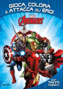 Nordestcaffeisola.it Avengers. Gioca, colora e attacca gli eroi. Con adesivi Image
