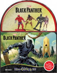 Radiospeed.it Black Panther. Libro gioca kit. Con gadget Image