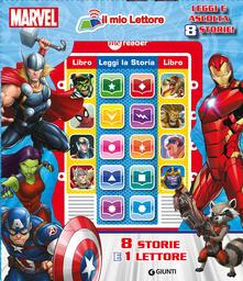 Winniearcher.com Marvel. Il mio primo lettore. Con gadget Image