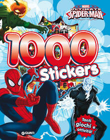 Squillogame.it 1000 stickers Ultimate Spider-man. Con adesivi Image