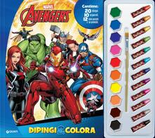 Cefalufilmfestival.it Avengers. Dipingi & colora. Con 12 pastelli a cera e 10 acquerelli Image