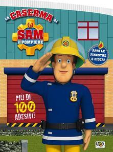 Amatigota.it La caserma di Sam il pompiere. Con adesivi Image