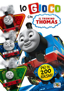Io gioco con trenino Thomas. Con adesivi