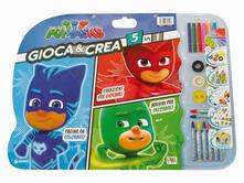 Gioca & crea 5 in 1. Pj Masks. Ediz. a colori. Con gadget.pdf
