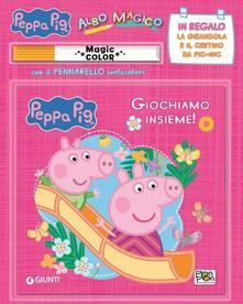 Osteriacasadimare.it Giochiamo insieme! Albo magico. Peppa Pig. Con gadget Image
