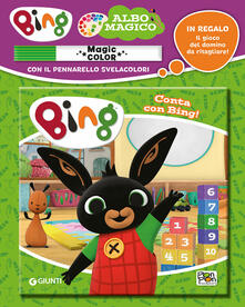 Promoartpalermo.it Conta con Bing! Albo magico. Ediz. a colori. Con pennarello svelacolori Image