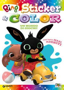 Mondo di giochi. Sticker & color. Bing. Con adesivi. Ediz. a colori.pdf