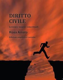 Diritto civile. Lezioni e mappe concettuali - Rosa Amato - ebook