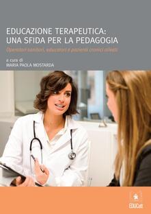 Premioquesti.it Educazione terapeutica: una sfida per la pedagogia Image