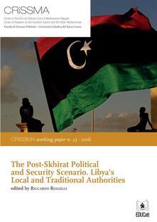Thepost-Skhirat political and security scenario