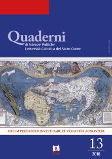 Camfeed.it Quaderni del dipartimento di scienze politiche Università Cattolica del Sacro Cuore (2018). Vol. 13 Image
