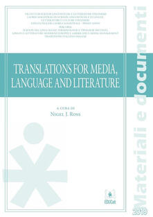 Translations for media, language and literature