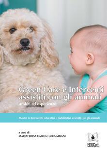 Voluntariadobaleares2014.es Green care e interventi assistiti con gli animali. Ambiti ed esperienze Image