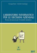 Laboratorio informatico per le decisioni aziendali