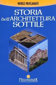 Storia dell'architettura sottile - Michele Proclamato - copertina