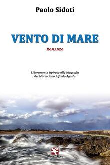 Vento di mare - Paolo Sidoti - copertina