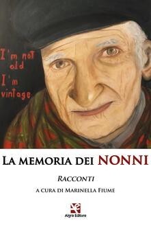 La memoria dei nonni - copertina