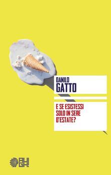E se esistessi solo in sere d'estate? - Danilo Gatto - copertina