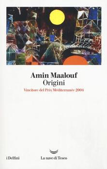 Origini - Amin Maalouf - copertina