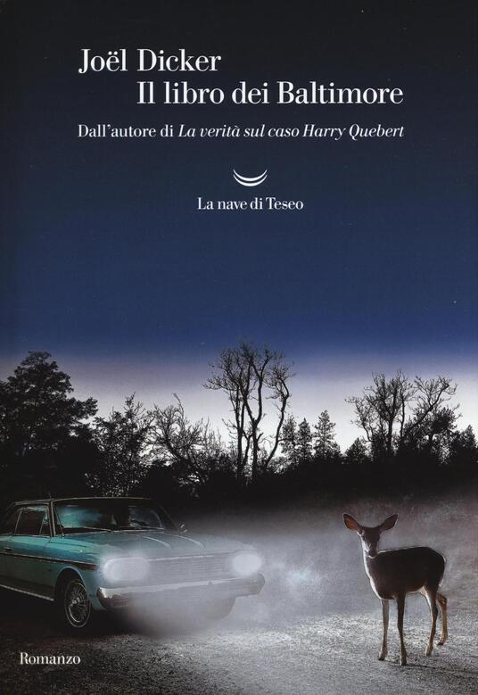 Il libro dei Baltimore - Joël Dicker - copertina