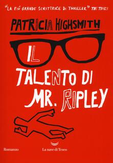 Il talento di Mr. Ripley - Patricia Highsmith - copertina