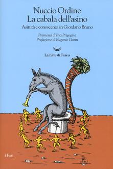 Antondemarirreguera.es La cabala dell'asino. Asinità e conoscenza in Giordano Bruno Image