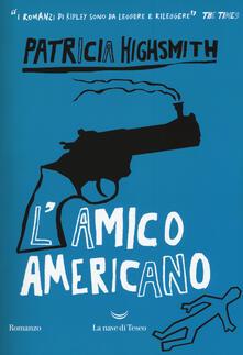 L' amico americano - Patricia Highsmith - copertina