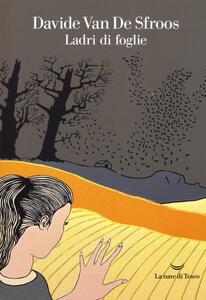 Ladri di foglie - Davide Van de Sfroos - copertina