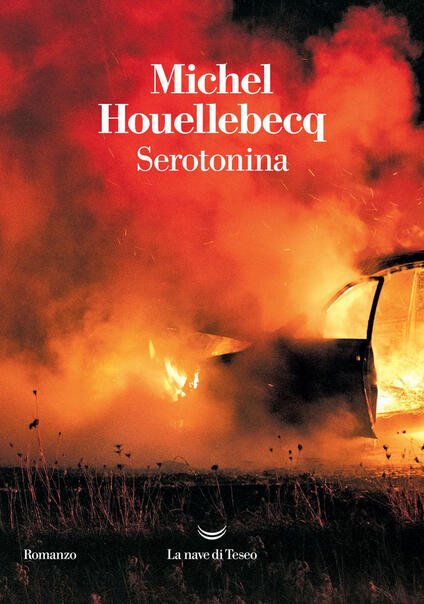 Serotonina - Michel Houellebecq - copertina