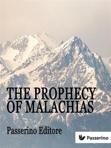 Theprophecy of Malachias