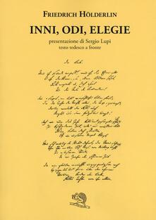 Letterarioprimopiano.it Inni, odi, elegie. Testo tedesco a fronte. Ediz. bilingue Image