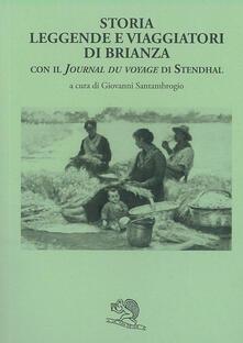Ipabsantonioabatetrino.it Storia leggende e viaggiatori di Brianza. Con il «Journal du voyage» di Stendhal Image
