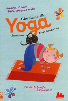 Secchiarapita.it Giochiamo allo yoga. Ediz. a colori Image