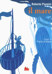 Il mare. Ediz. a colori - Roberto Piumini - copertina
