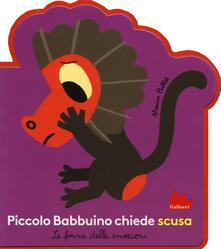 Rallydeicolliscaligeri.it Piccolo babbuino chiede scusa. Le forme delle emozioni. Ediz. a colori Image