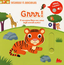 Squillogame.it Grrr! Il mio primo libro con iversi degli animali esotici! Scorri e ascolta. Ediz. a colori Image
