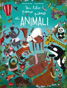 Daddyswing.es Un libro pieno pieno di animali. Ediz. a colori Image