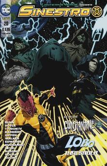 Parcoarenas.it Lanterna verde presenta: Sinestro. Vol. 20 Image