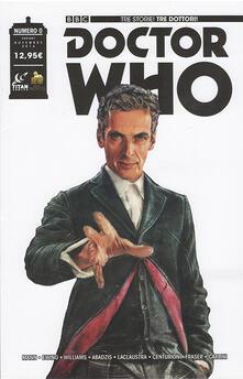 Ristorantezintonio.it Doctor Who. Tre storie, tre dottori. Ediz. variant Lucca. Vol. 0 Image