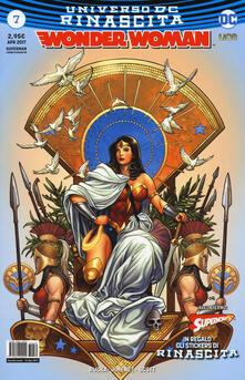 Adiaphora.it Rinascita. Wonder Woman. Con Adesivi. Vol. 7 Image